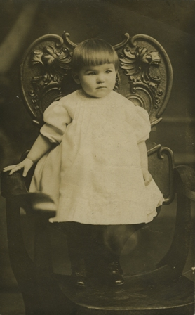 Myrle Fisher, about 1897