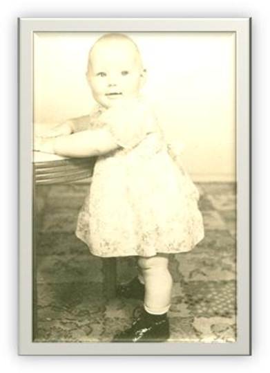 Joyce Stuart (Lee), one year old