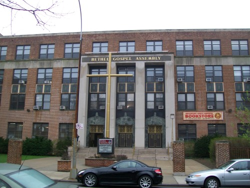Bethel Gospel Assembly, purchased the former James Fennimore Cooper Junior High School in Harlem in 1982.