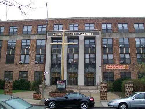 Bethel Gospel Assembly, purchased the former James Fennimore Cooper Junior High School in Harlem in 1982.