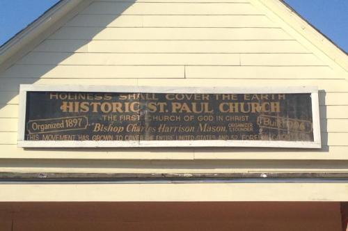 St. Paul Church of God in Christ, the oldest COGIC congregation in the world, was founded in Lexington in 1897.