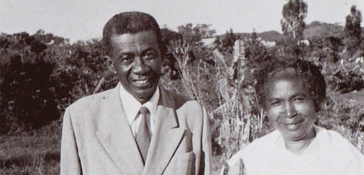 Rev. Rasoamanana, president of the Assemblies of God of Madagascar, and his wife, 1978.