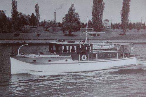 Fairtide II leaving for Alaska 1945