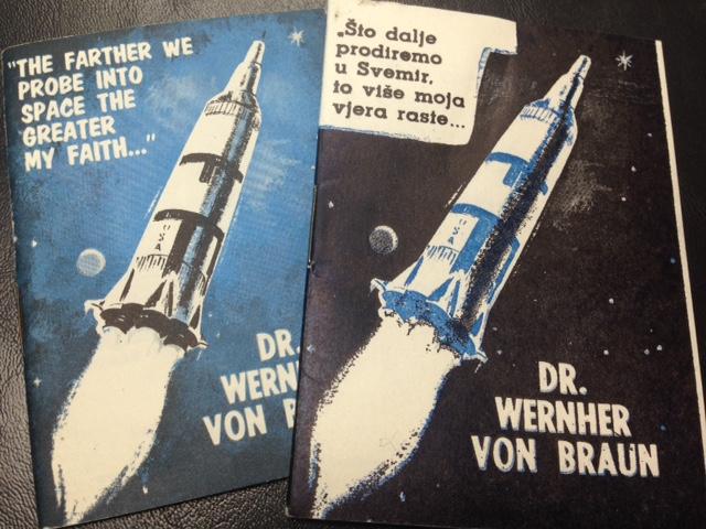 Wernher von Braun booklets