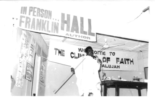Franklin Hall Set to begin in Ghana in 1960s