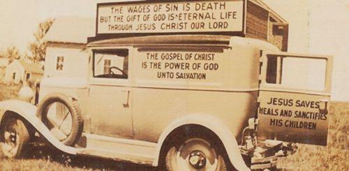 Gospel car