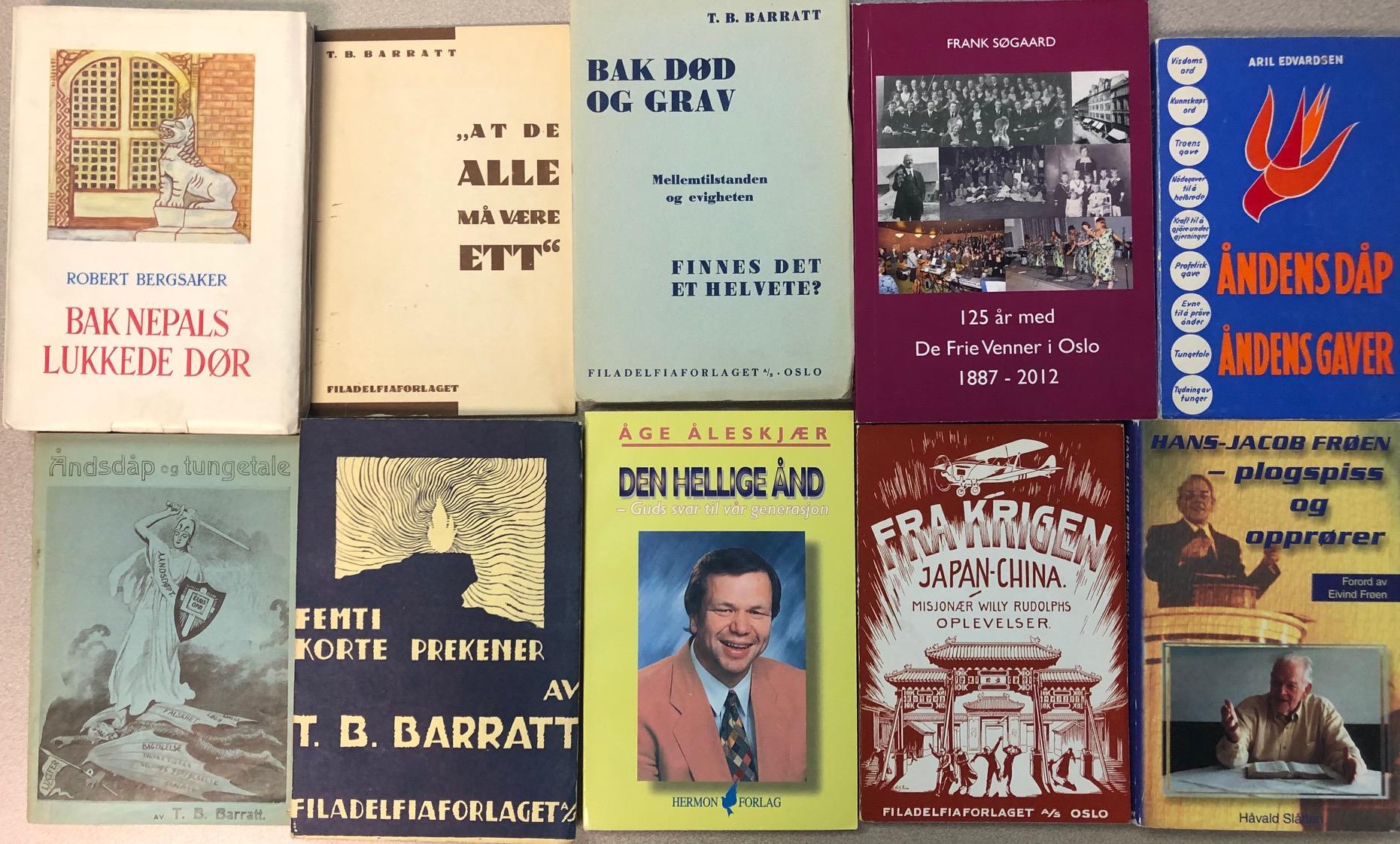 Norwegian books